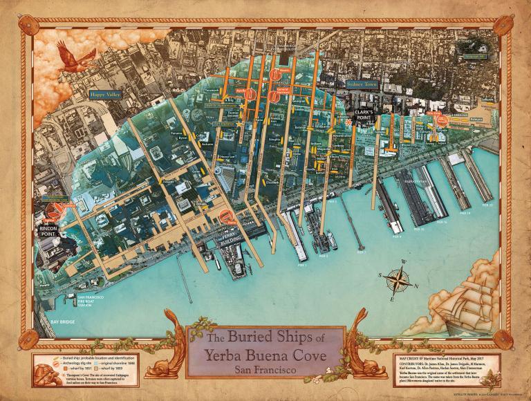 san francisco ships map